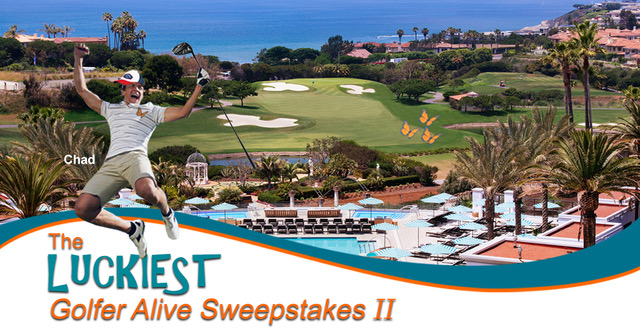 Enter The Luckiest Golfer Alive Sweepstakes II